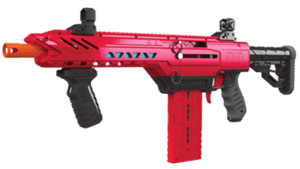 Diagonal View of the Dart Zone® Pro MK 1.1 High Power Toy Foam Blaster