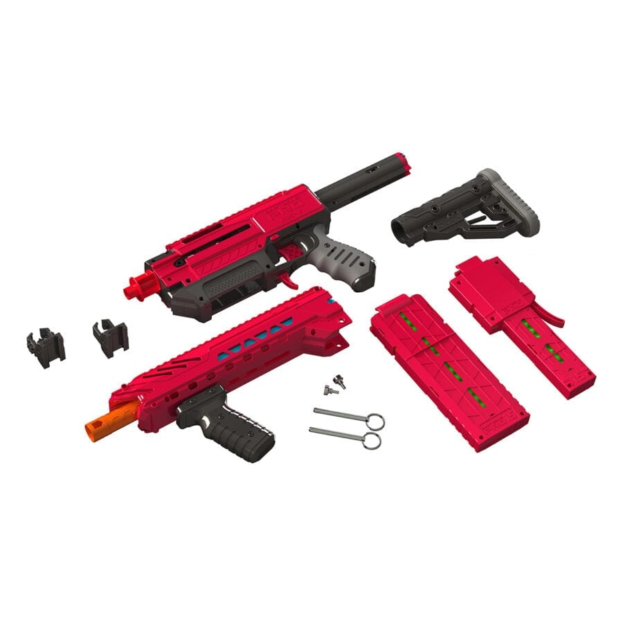 Disassembled View of the Dart Zone® Pro MK 1.1 High Power Toy Foam Blaster