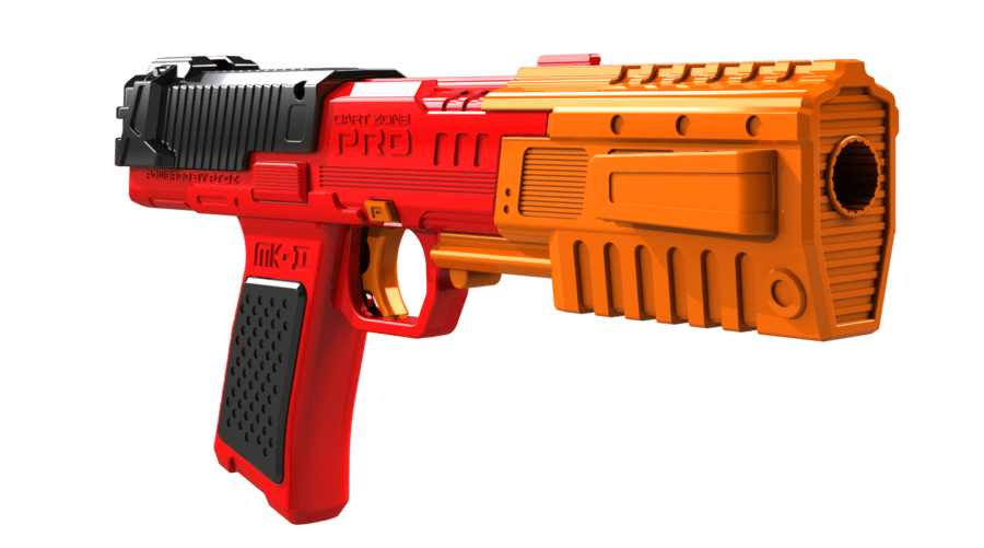 Right Side View of the Pro Series MK-2 High Power Toy Foam Dart Blaster