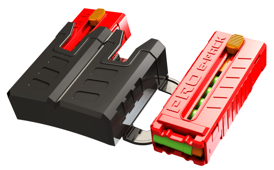 Magazines, Darts, and Magazine Holders Included in the Pro Series MK-2 High Power Toy Foam Dart Blaster