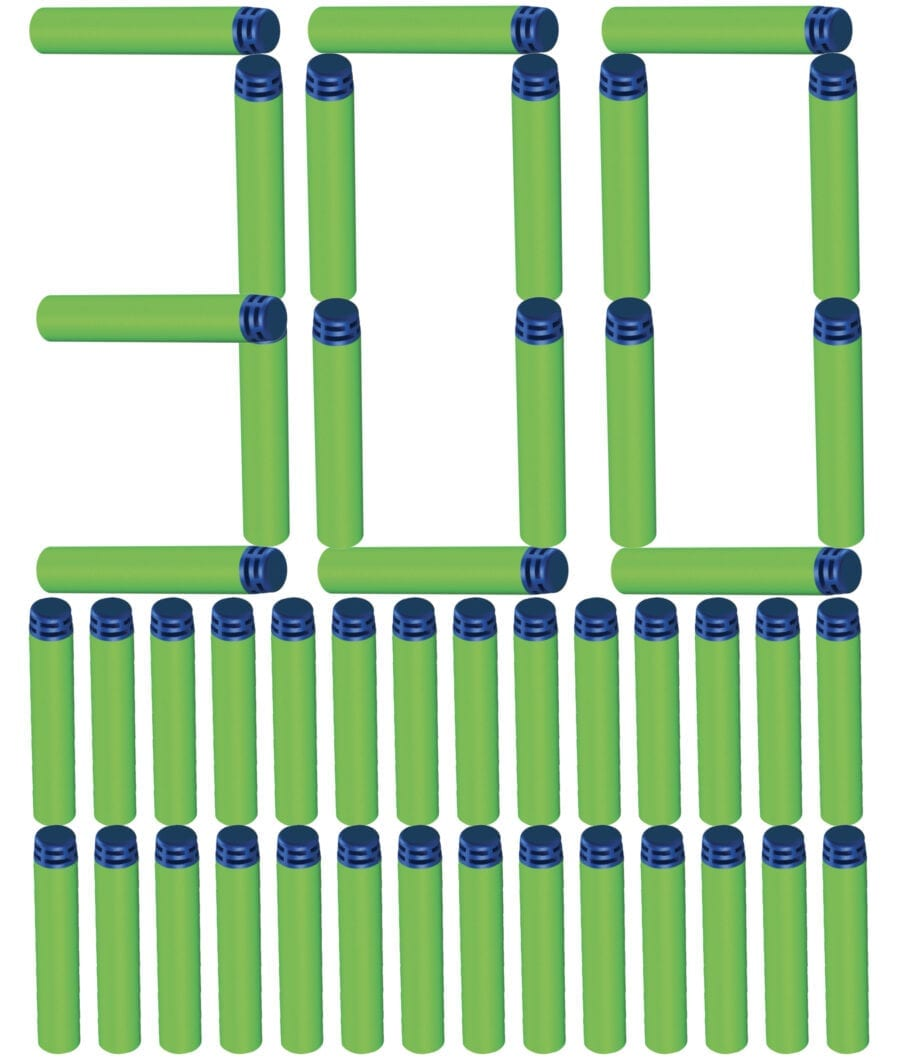 300 Dart Refill Pack Waffle Tipped Foam Darts for High Powered Toy Blasters