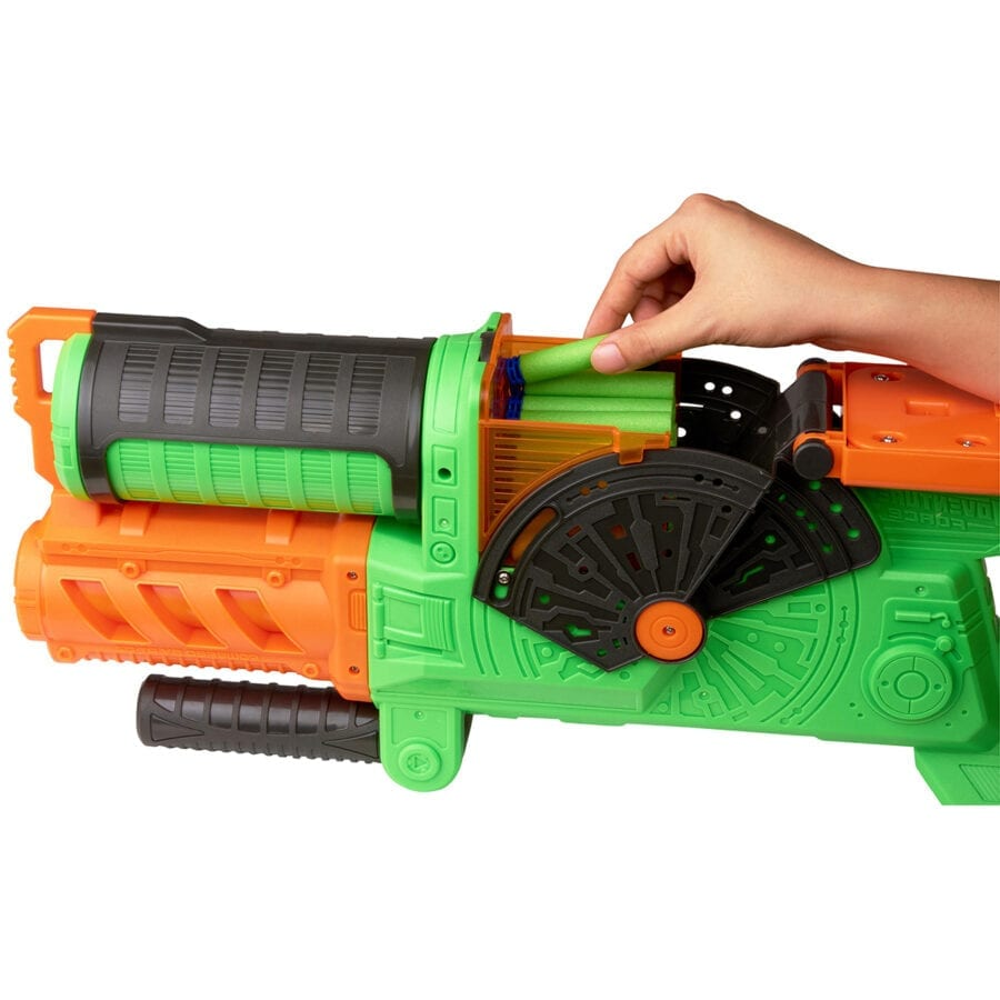 Adventure Force Foam Waffle Tipped 100 Dart Refill Ammo Pack for High Powered Toy Dart Blasters in Action