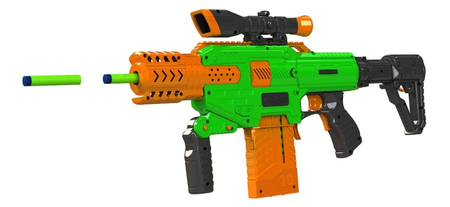 Adventure Force Spectrum Automatic Motorized High Power Clip-Fed Toy Foam Dart Blaster