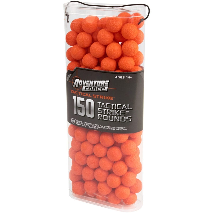 Adventure Force 150 Rounds Toy Foam Refill Ammo Pack For High Power Ball Blasters