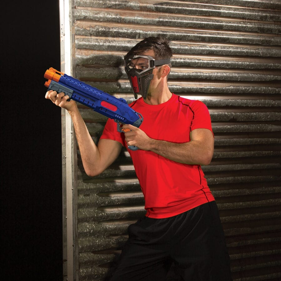 Action View of the Adventure Force Liberator Tactical Strike High Power Toy Foam Ball Blaster