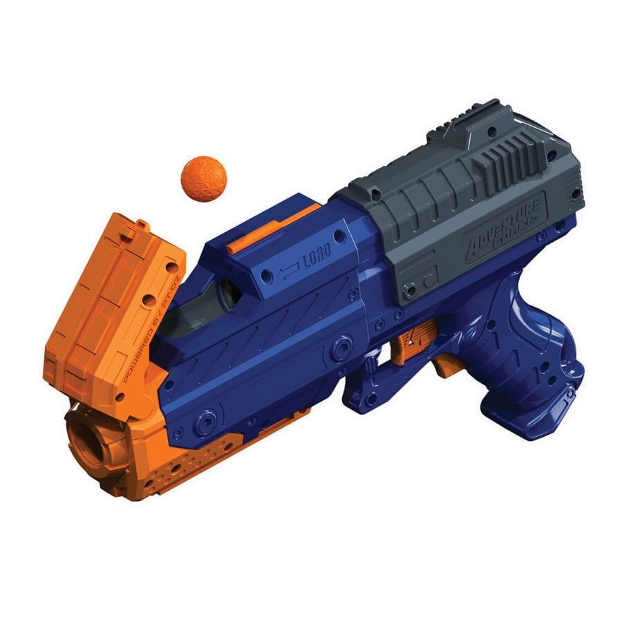 Reload Action for the Adventure Force Sentry X2 High Power Tactical Strike Foam Ball Blaster