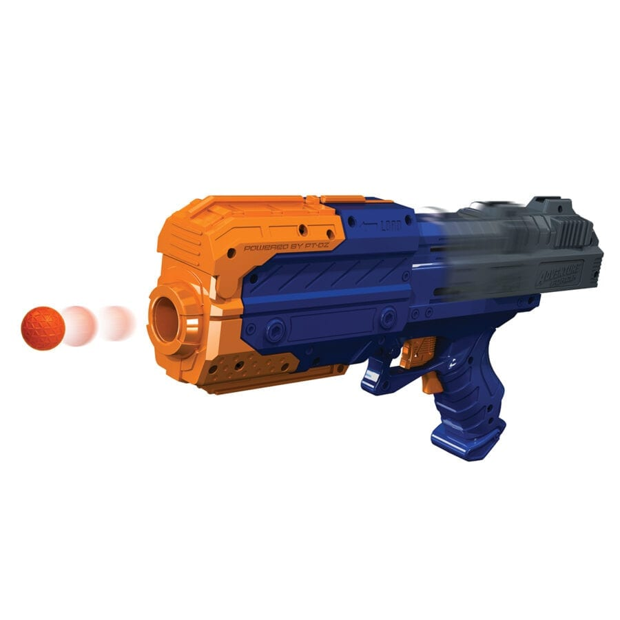 The Adventure Force Sentry X2 High Power Tactical Strike Foam Ball Blaster in Action