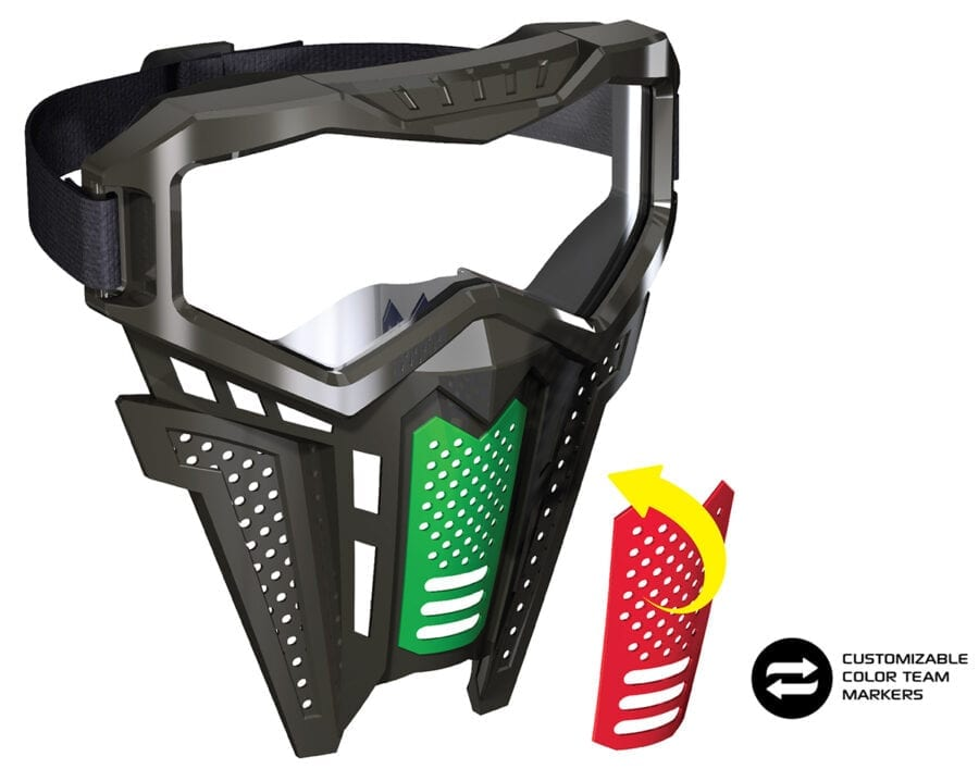 Adventure Force Tactical Strike Mask for High Power Team Competition