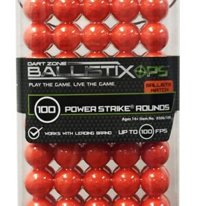 Boxed View of the BallistixOps 100 Rounds Refill Pack for Toy Foam High Powered Blasters