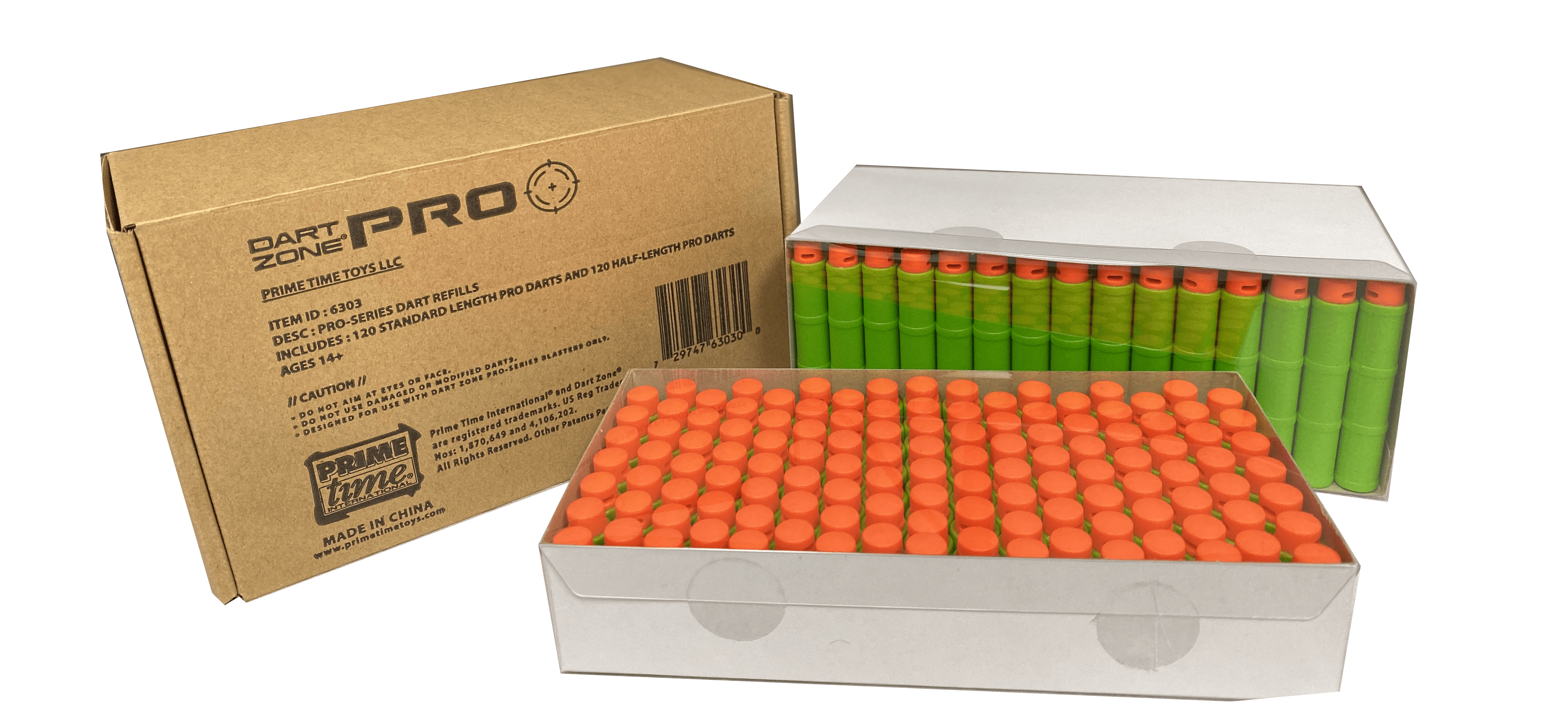 240 Toy Foam Pro Darts Ammo Refill Pack for High Power Dart Blasters