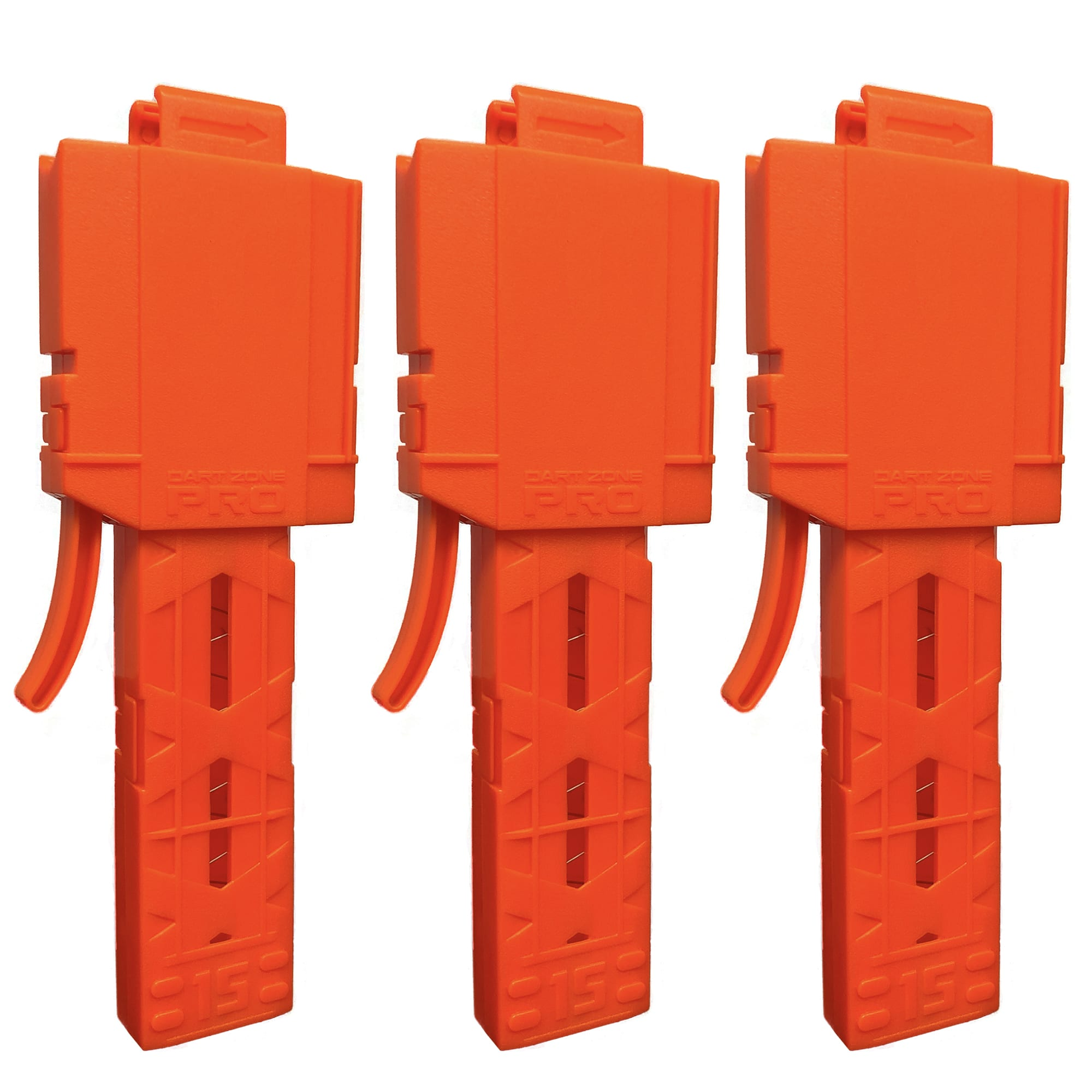 Pro Half-Length Magazines with Adaptors for High Power Toy Foam Dart Blasters