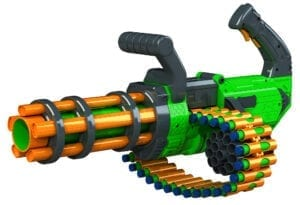 Adventure Force V-Twin High Power Automatic Motorized Toy Foam Gatling Belt Dart Blaster
