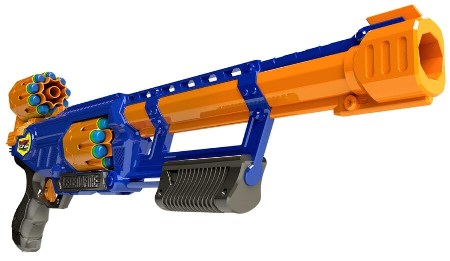 High Power Toy Foam Legendfire Powershot Blaster with Waffle Tip Darts