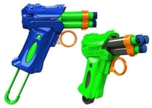 High Power Tri-Fire Quickfire Blaster Toy Foam Waffle Tip Blaster