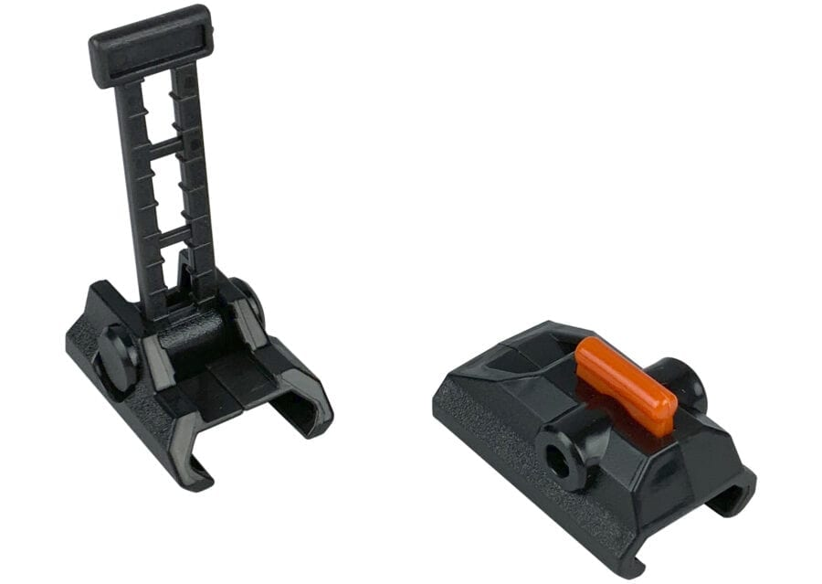 Diagonal View for the Nexus Pro Replacement Sights For High Power Toy Foam Dart Blasters