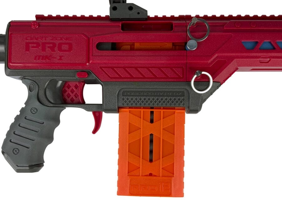 Mk1.1 View for the Nexus Pro and Aeon Pro Standard Length Magazine for High Power Toy Foam Blasters