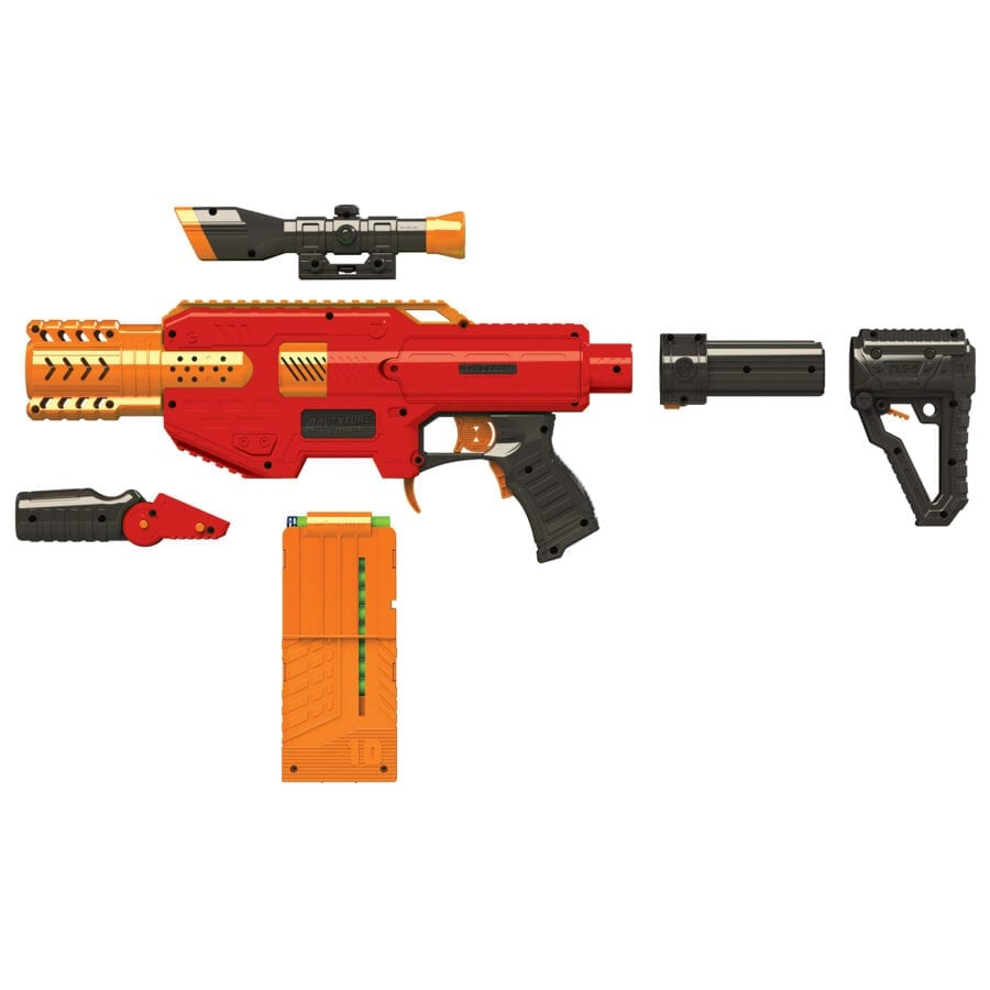 Disassembled Adventure Force Spectrum Automatic High-power Toy Blaster