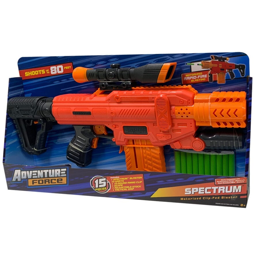 Boxed Adventure Force Spectrum Automatic High-power Toy Blaster